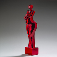 Promise rouge chrome <br />